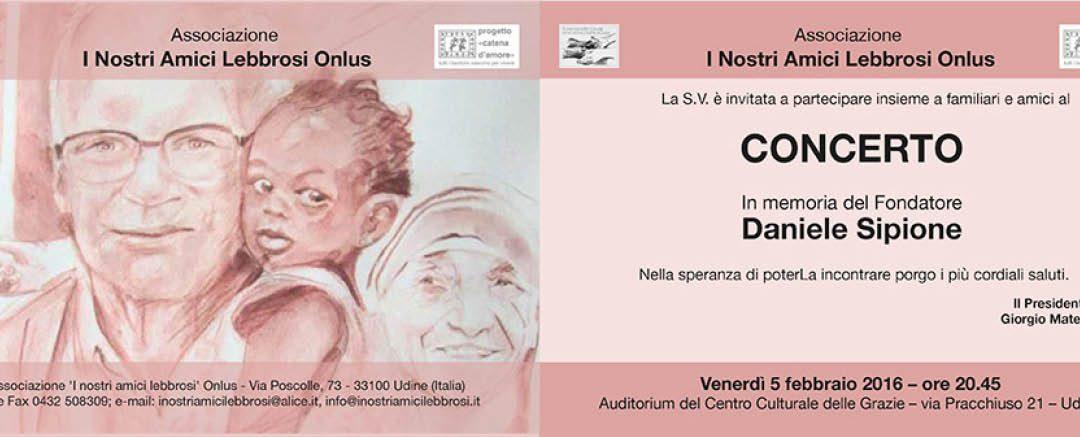 Concerto in memoria del fondatore Daniele Sipione