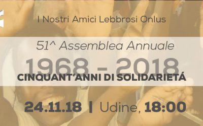 51° Assemblea Annuale: Cinquant'anni di solidarietà