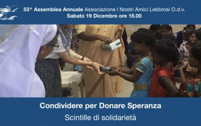 53^ Assemblea Annuale: Condividere per Donare Speranza.