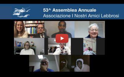 Registrazione 53^ Assemblea Annuale: Condividere per Donare Speranza.